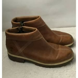 Timberland Ankle Boots Womens Brown Leather 8.5